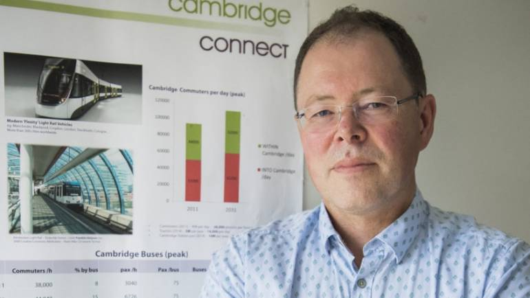 Boost for Haverhill to Cambridge rail link revival hopes